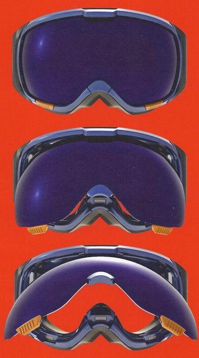 anon skibril dames m1 magna systeem verwisselbare lens magnetisch