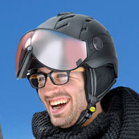 Cp camurai helmet with visor - The perfect ski helmet for glasses wearer