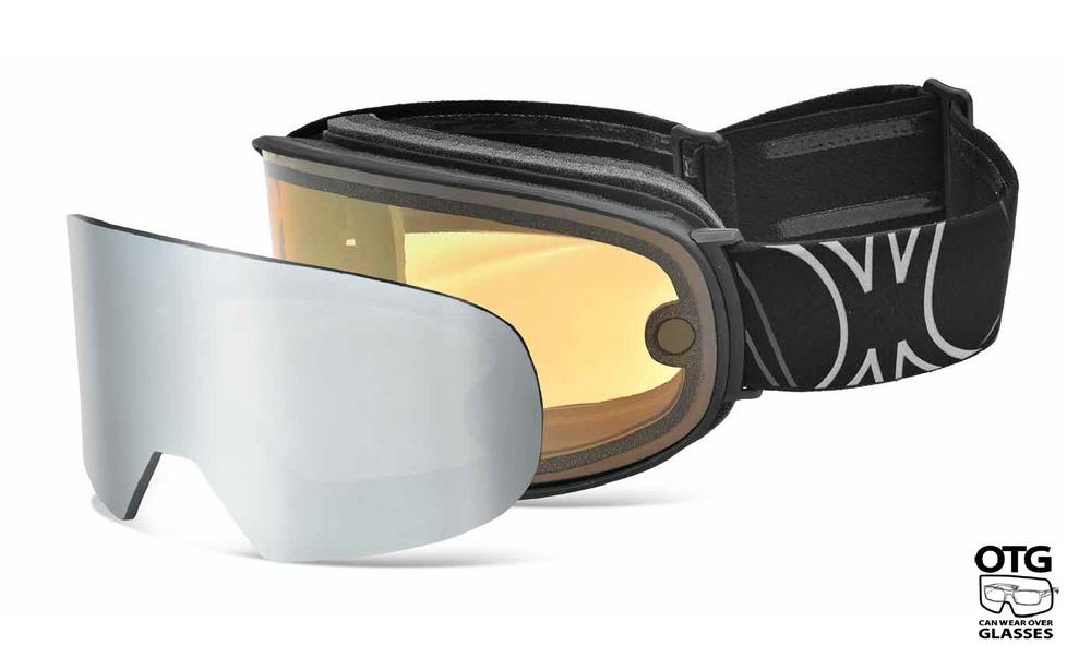 slokker SP1 skibril heren met verwisselbare lens magnetisch kopen online bij topsnowshop.nl
